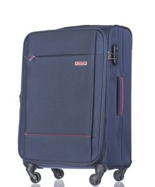 Duża walizka PUCCINI EM-50720 A Parma granatowa