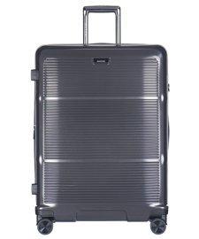 Duża walizka PUCCINI PC021 Vienna ciemnoszara