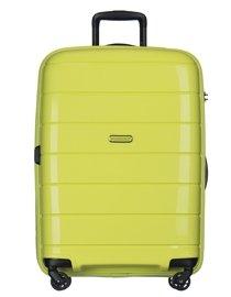 Duża walizka PUCCINI PP013 Madagaskar limonkowa