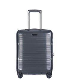 Mała walizka PUCCINI PC021 Vienna ciemnoszara