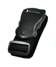 Pas zabezpieczający bagaż PUCCINI 20805 czarny