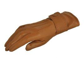 Rękawiczki damskie PUCCINI D-1501 jasny brąz