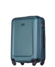 Średnia walizka PUCCINI ABS04 Ibiza ciemnozielona