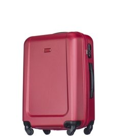 Średnia walizka PUCCINI ABS04 Ibiza czerwona
