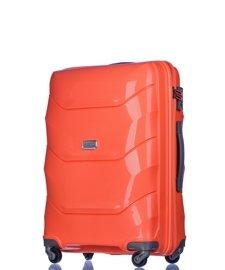 Średnia walizka PUCCINI PP011 Miami orange