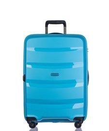 Średnia walizka PUCCINI PP012 Acapulco błękitna
