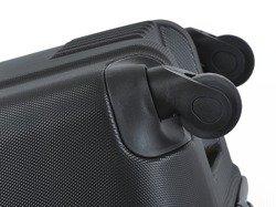Duża walizka PUCCINI ABS02 Lizbona czarna