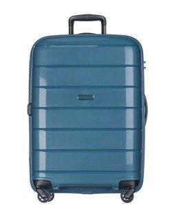 Duża walizka PUCCINI PP013 Madagaskar turkusowa