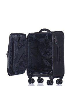 Mała walizka PUCCINI Copenhagen EM-50420 C czarna