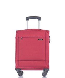 Mała walizka PUCCINI EM-50720 Parma czerwona