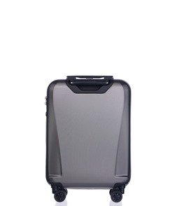 Mała walizka PUCCINI PC019 Londyn szary antracyt