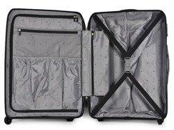 Średnia walizka PUCCINI PP011 Miami czarna