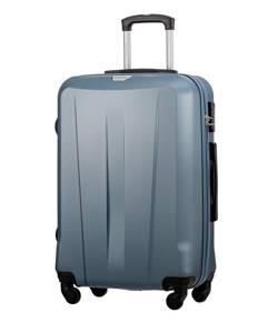 Duża walizka PUCCINI ABS03 Paris niebieska